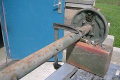 M416 A1 wird repariert und lackiert