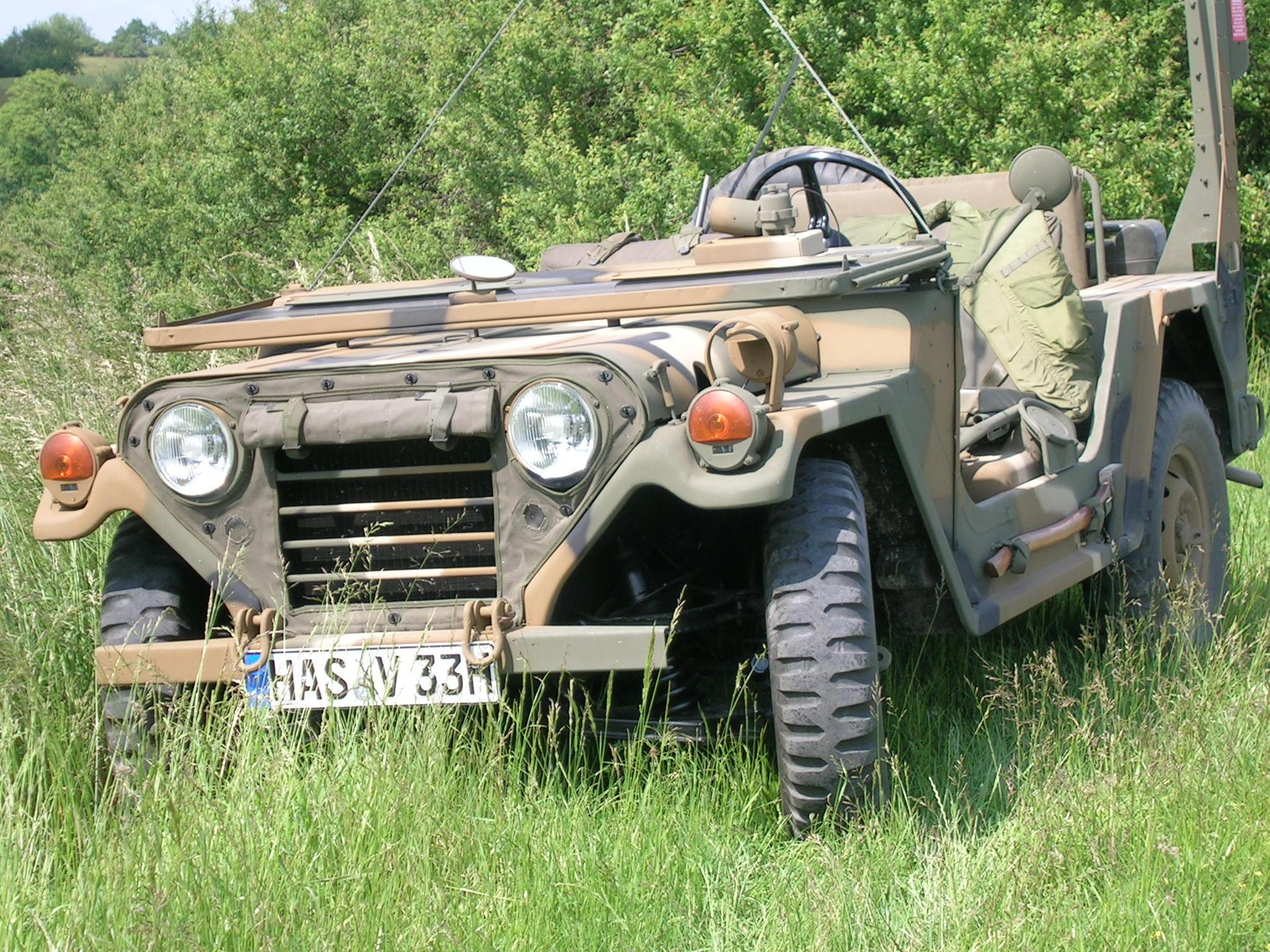 Ford Mutt M151 A2 ohne Verdeck und ohne Frontscheibe