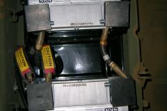 Batteriekasten nach der Lackierung