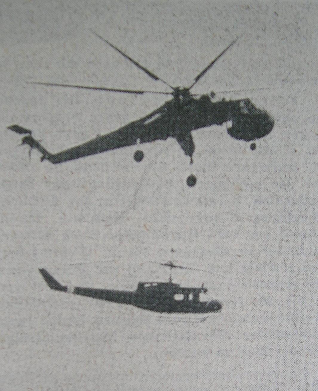 Lastenhubschrauber mit Bell UH 1D