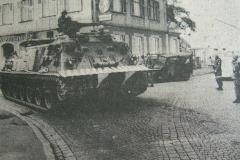 Bergepanzer M88 auf der Kreuzung in Eltmann
