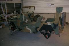 M151 A2 einfach drehen mit Liqui Kippwagenheber