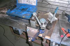 Bördelgerät für Bremsleitungen