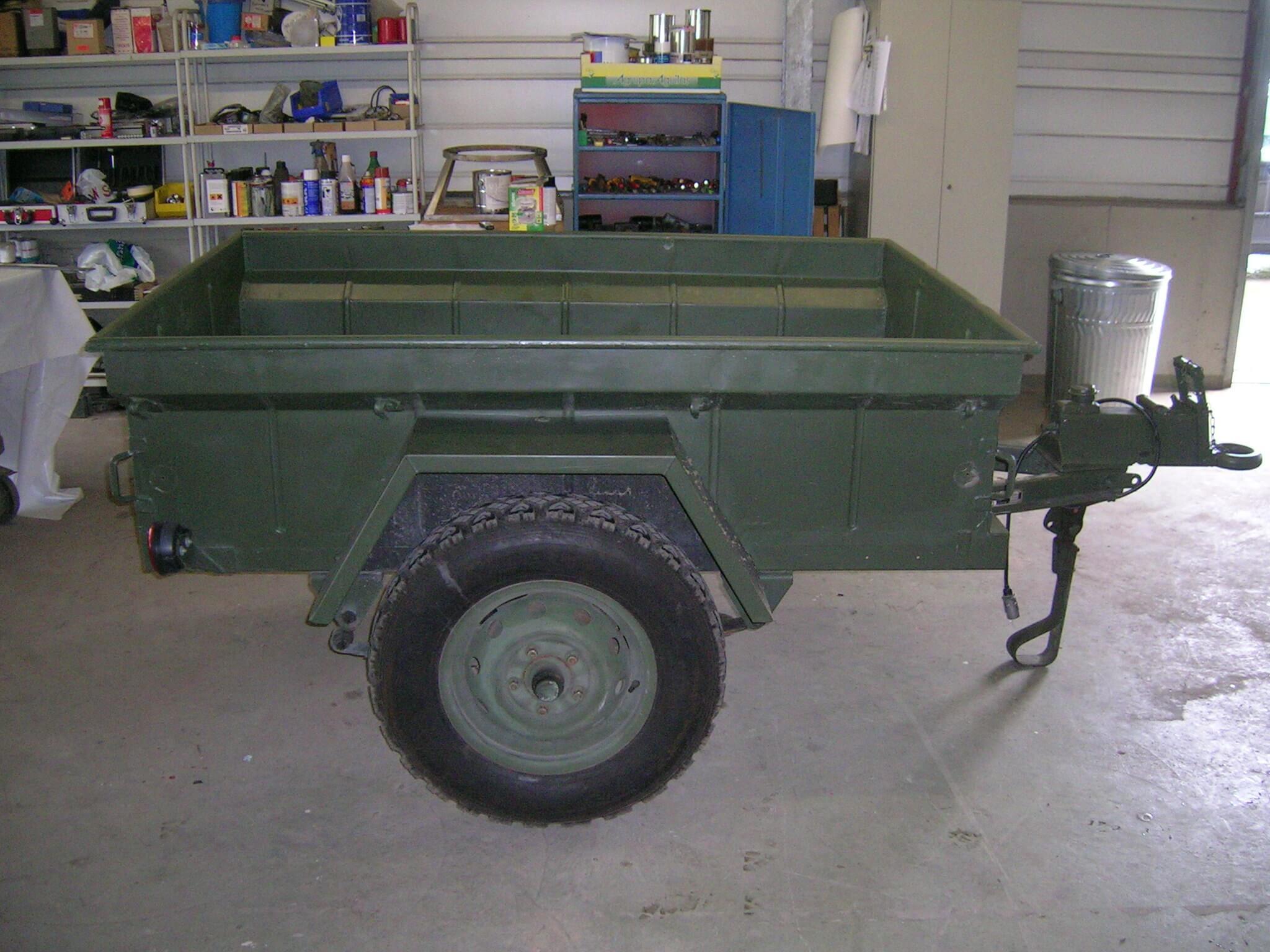 Anhänger für einen M151 A2 Ford Mutt US Army Jeep