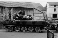 Sheridan Panzer - Reforger 1970 Manöver der US Army