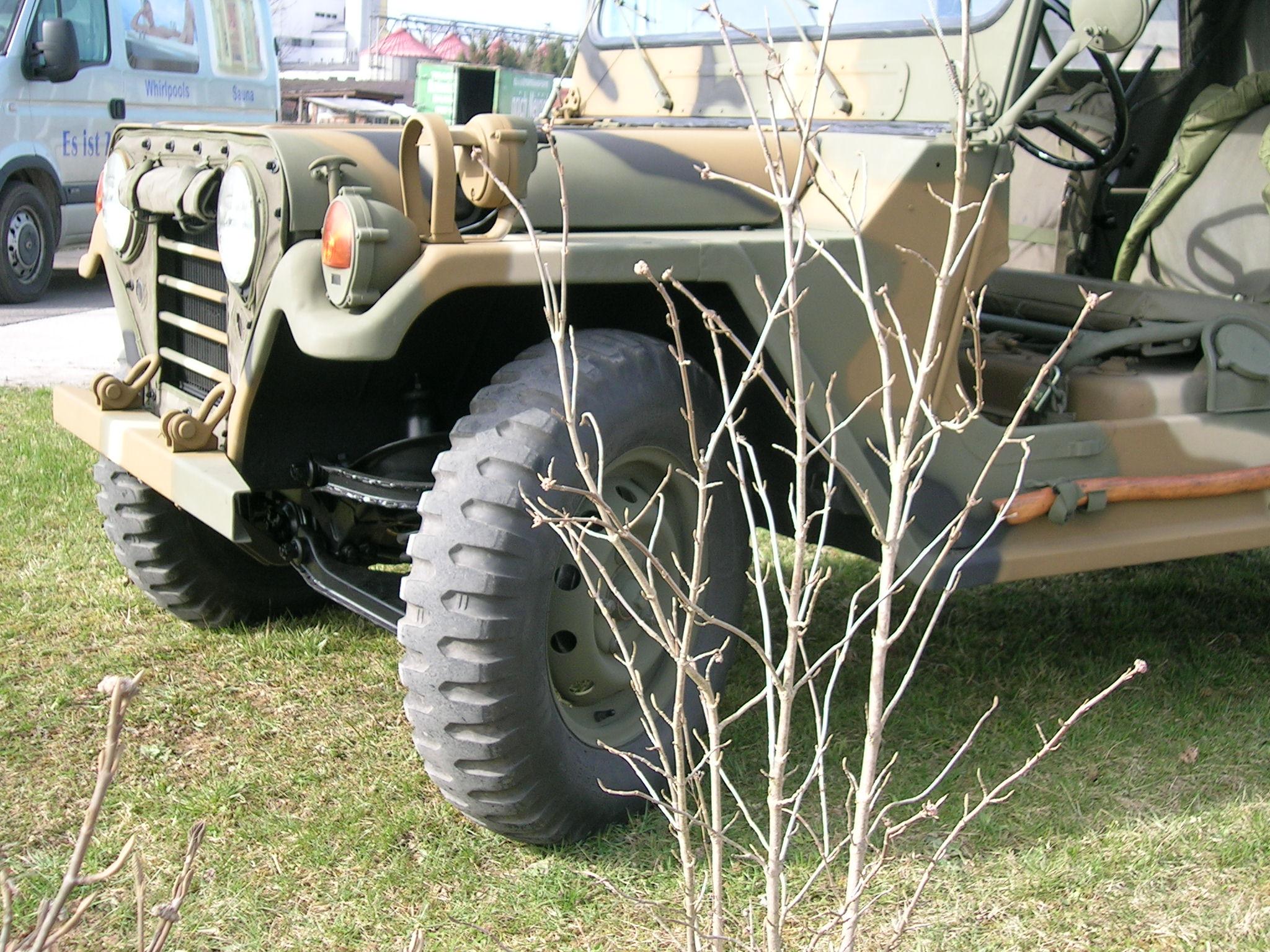 Mein Ford Mutt M151 A2 in der Sonne