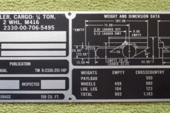 data_plate_typenschild_us_army_m_416_m416